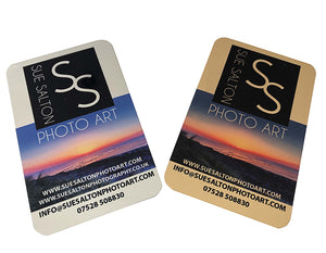 LUXURY GIFT WRAPPING SERVICE INCLUDING GOLD OR SILVER MIRROR GIFT CARD - Sue Salton Photo Art