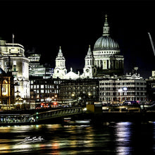 Glass Coasters London Night Scenes Set of 6 (23) - Sue Salton Photo Art