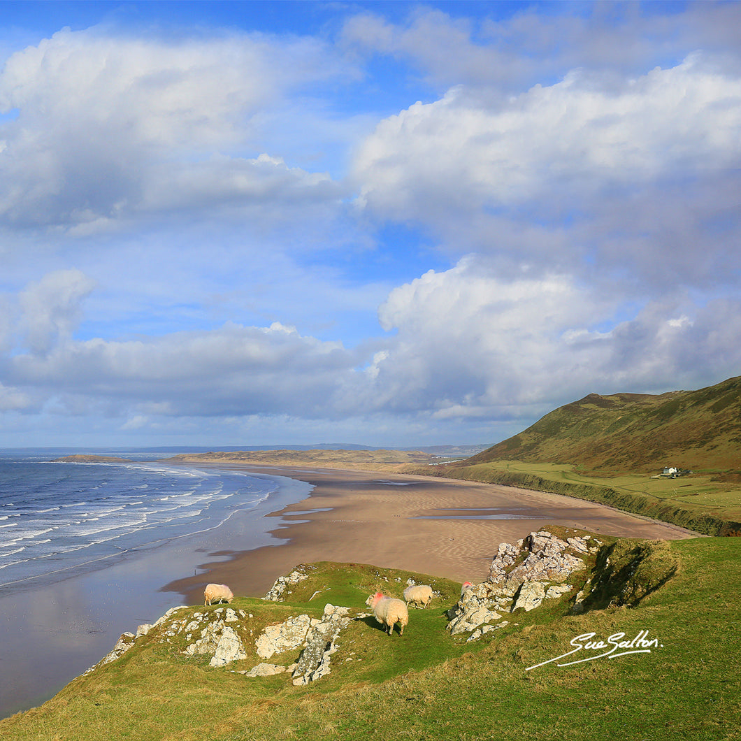 RHOSSILI BEACH - Sue Salton Photo Art