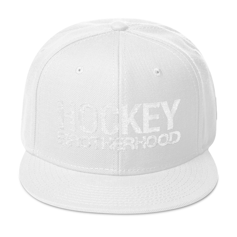 HB Classic Snapback Hat - Whiteout - HockeyBROTHERHOOD