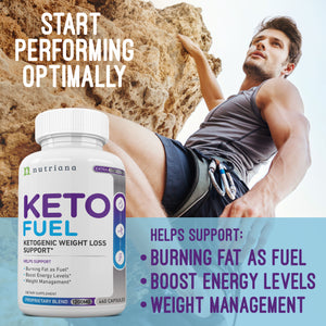 Keto Fuel Energy Boosting Weight Loss Pills