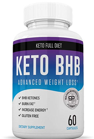 Keto Max Diet Pills With BHB Salts