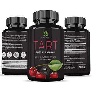 Tart Cherry Capsules with Celery Seed and Turmeric