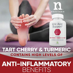 Uric Acid Cleanse Support Tart Cherry 2500mg with Turmeric and Celery Seed Extract