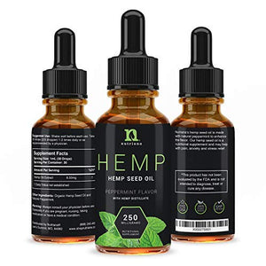 Hemp Oil for Sleep Aid 250 mg