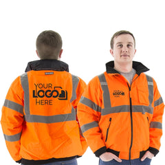 Customize high visibility gear with your logo or text