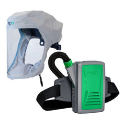 Face Hood with Face Seal Respirator with PAPR