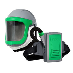 Helmet with Neck Seal Respirator with PAPR