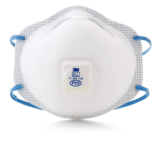 3M P95 Particulate Respirators with Nuisance Relief & Cool Flow Valve (PK 10) - X1 Safety
