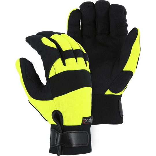 Cut and Puncture Resistant Glove - Alycore Blend, Armor Skin Palm, High Visibility, High Puncture and Extreme Cut Resistance (1 Pair) - Majestic