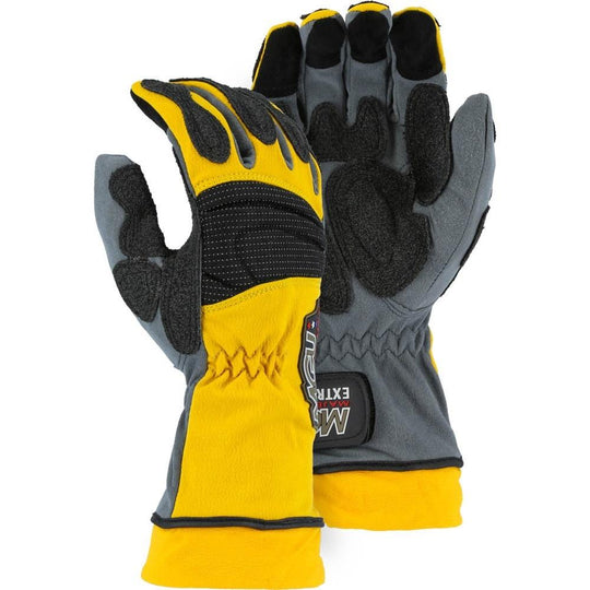 Extrication Glove with Kevlar Armortex Palm and Extended Cuff (PK 1 Pair) - Majestic - X1 Safety