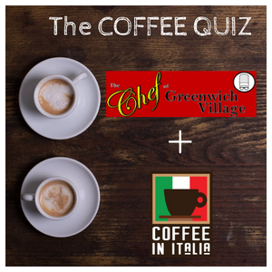 ☕ Coffee Quiz - 12th edition with Giovanna from The Chef's Daughter NYC