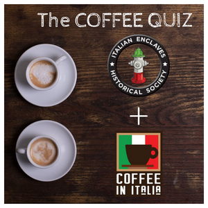 ☕ Coffee Quiz - 13th edition with Raymond Guarini from Italian Enclaves