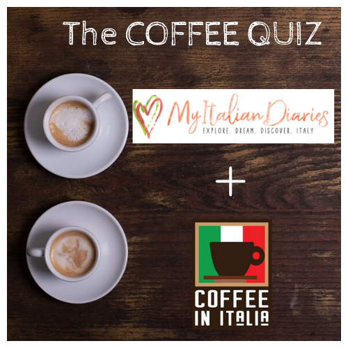 ☕ Coffee Quiz - 9th edition with Val from My Italian Diaries