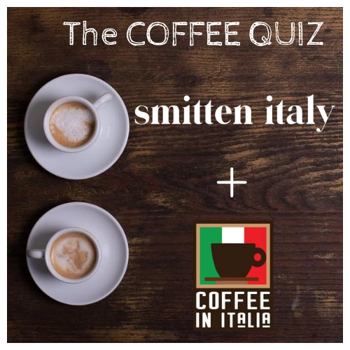 ☕ Coffee Quiz - 11th edition with Heather from Smitten Italy