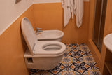 Orsini 46 Naples Capri room bathroom toilet and bidet