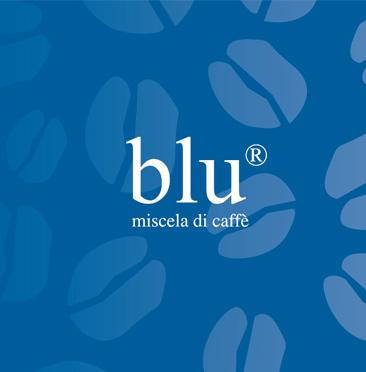 San Giusto Caffe blu logo with the words miscela di caffe