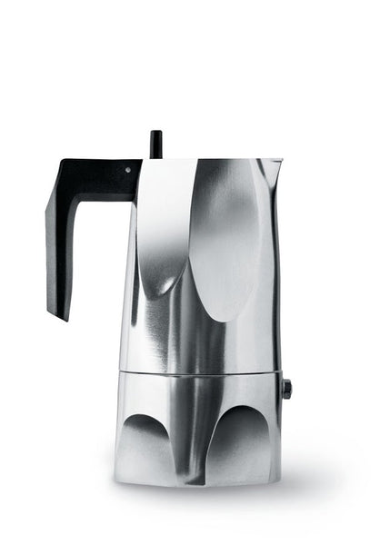 Alessi Ossidiana - Stove-top Espresso Coffee Maker