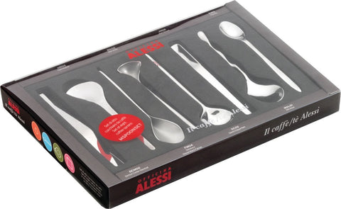 Il Caffè Alessi Coffee Spoons - Set of 8