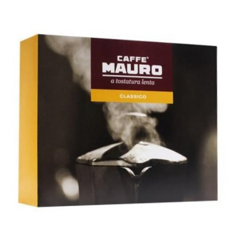 caffe mauro double pack of italian coffee front view