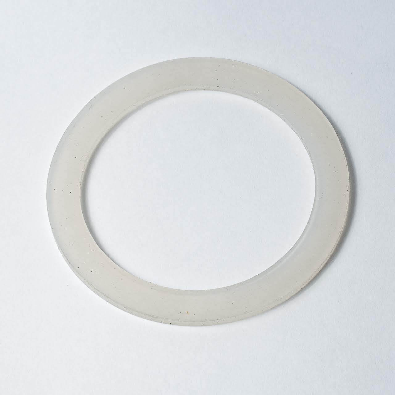 Gnali and Zani Morosina rubber gasket or washer, single clear ring