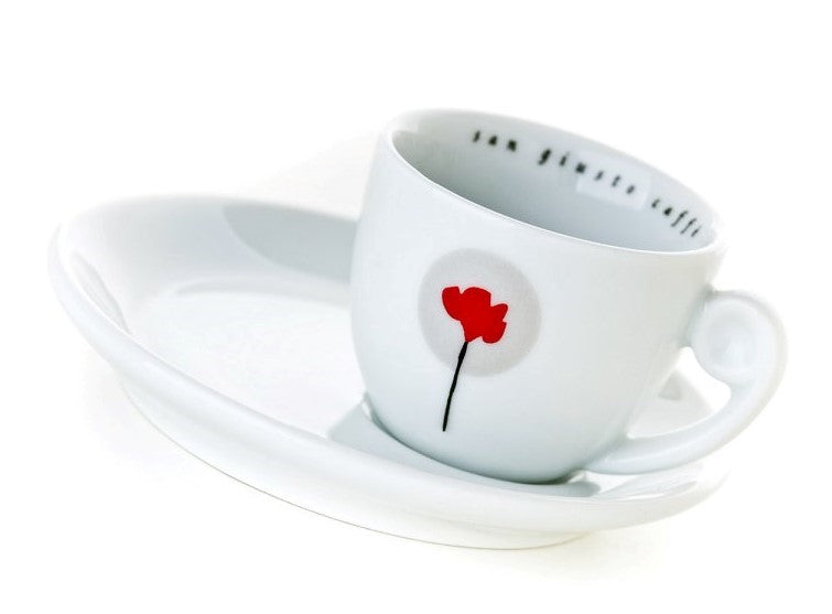 San Giusto Caffè Cappuccino Cup with Saucer