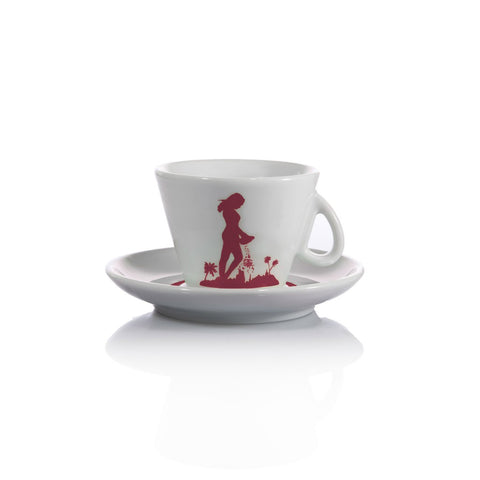Tazza D'oro Cappuccino Cup with Saucer