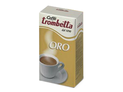 Caffe Trombetta Oro package with no background 250g