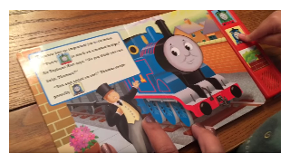 Thomas and Friends : Thomas Saves The Day. Inside