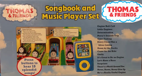 Thomas & Friends: Thomas' Top Tunes. Songbook and Music Player Mini Gift Set Inside