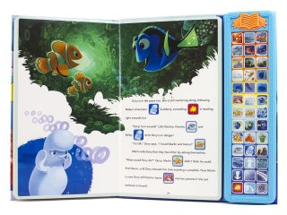Disney PIXAR Finding Nemo/Finding Dory : Sound Storybook Treasury Inside