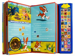 Paw Patrol Sound Storybook Treasury Inside
