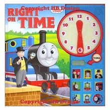 Load image into Gallery viewer, Thomas & Friends: Thomas Right on Time. Play-a-Sound