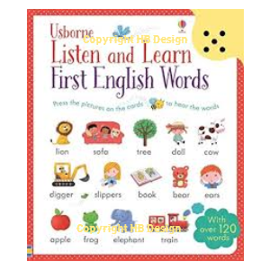 Listen and Learn: First English Words. Sound Cards