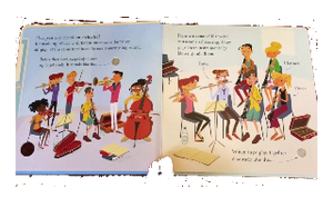 First Book About Orchestra. Sound Storybook Inside