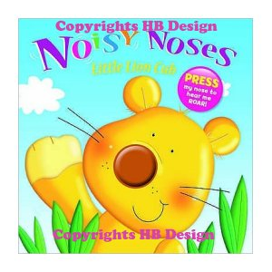 Noisy Noses: Little Lion Cub. Interactive Sound Book