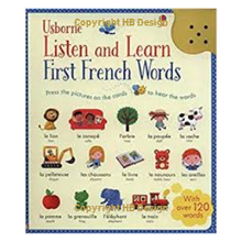 Load image into Gallery viewer, Listen and Learn: First French Words. Sound Cards