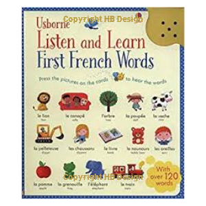 Listen and Learn: First French Words. Sound Cards