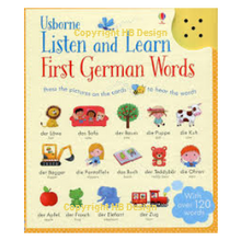 Load image into Gallery viewer, Listen and Learn: First German Words. Sound Cards
