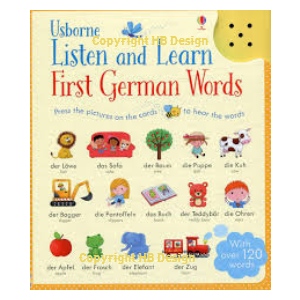 Listen and Learn: First German Words. Sound Cards