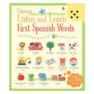 Listen and Learn: First Spanish Words. Sound Cards