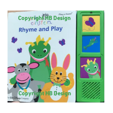 Load image into Gallery viewer, Baby Einstein : Rhyme And Play. Play-a-Sound Rhyme Book