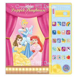 Disney Princess : Puppet Playhouse Theater Sound Book