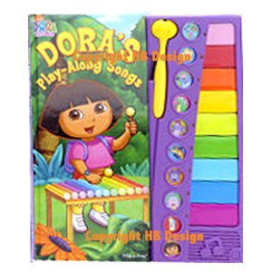 Dora the Explorer : Dora's Play-Along Songs Book