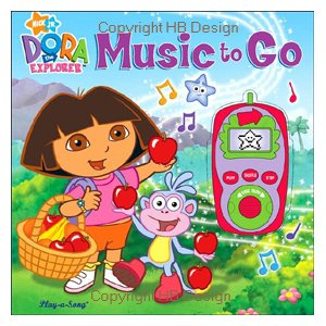 Dora the Explorer : Music to Go. Digital Music Player