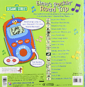 Sesame Street : Elmo's Rockin' Road Trip, Digital Music Player. Back Side