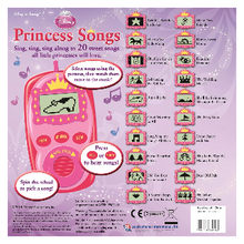 Load image into Gallery viewer, Disney Princess : Princess Songs. Digital Music Player. Inside