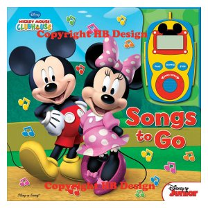 Mickey Mouse Clubhouse: Songs to Go. Digital Music Player