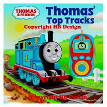 Load image into Gallery viewer, Thomas and Friends : Thomas' Top Tracks. Digital Music Player