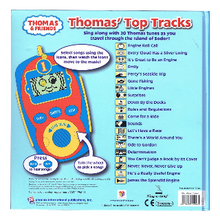 Load image into Gallery viewer, Thomas and Friends : Thomas' Top Tracks. Digital Music Player. Back Side